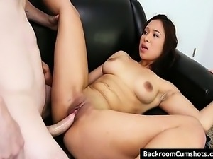 Enjoy as this hot asian chick having her hole licked before it's getting fucked