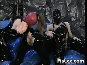 Horny Fetish Fist Pumping