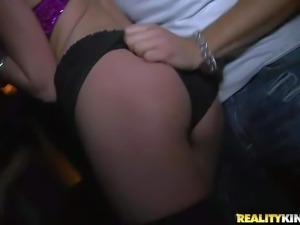 Victoria Rae Black and many other drunk girls dance and