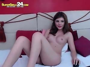 impressive blonde krysten in puss