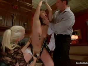 Madeleine Mei is a submissive asian wife who gets trained