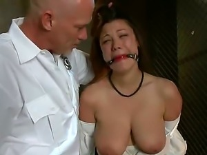 Sweet brunette with big natural boobs Dana Vixen gets Marks dick in her pussy...