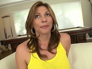 Pretty sexy, Lisa, takes off clothes to show her yummy boobs and fuckable ass