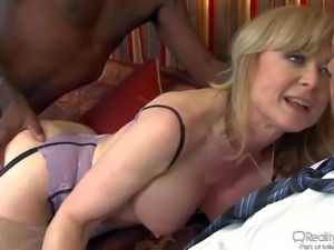 His wife Nina Hartley demands new sexual experience and she
