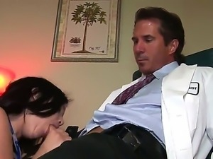 Young stepdaughter Amy Starz presents amazing blowjob for her stepfather and...