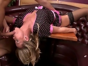 Horny male Danny Mountain is having a great time pounding milf Simone Sonay