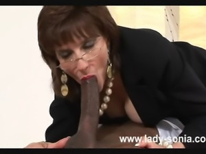Granny Cums  Granny Rosina Gets Her Tits Out