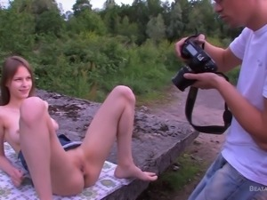 outdoor photo session with beata