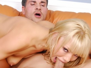 Maya Hills gets her mouth filled with good cock