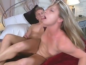 enjoy hardcore movie with amazing seductive blonde babe Amanda Blow and Danny...
