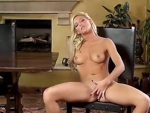 Glamorous and arresting blonde lady Niki Young looks like she came at the hot...