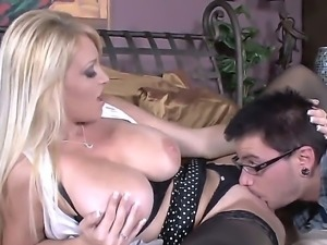 Charlee Chase and Dane Cross are enjoying a super hot hardcore deep fucking...