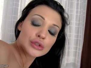 Aletta Ocean and two of her arousing pornstar friends Brandy