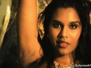 Brunette Dancer From Indian Province