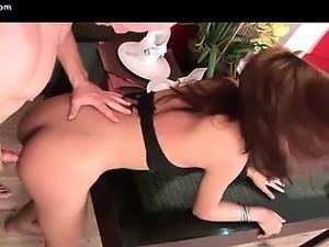 Asian ladyboy pounding a dude ass