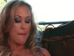 Hardcore and sexy action with a naughty slut named Brandi Love and Johnny Sins