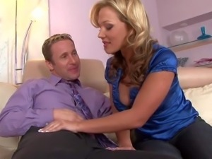 Nikki Sexx is a sex starved milfy woman with big