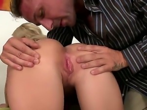 Cute innocent hottie Candy Sweet guides her dudes cock deep in her meat holes...