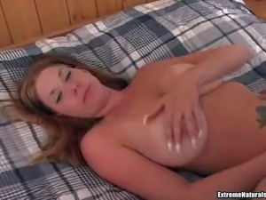 Courtnie is a cutie with big natural tits and trimmed