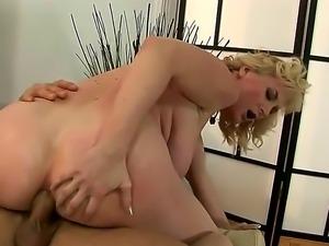 Naughty blonde milf Monik begs for a hard throbbing meat ploe and get her...