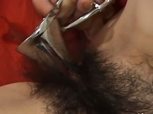 Deep anal sex with hairy tokyo babe