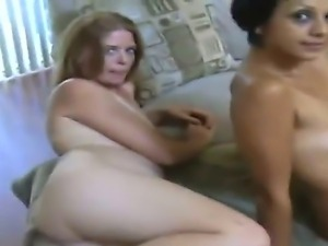 Take a look at two depraved whores Annie and Gigi sucking Jays big cock