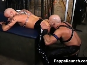 Kinky muscled dude getting slammed part4