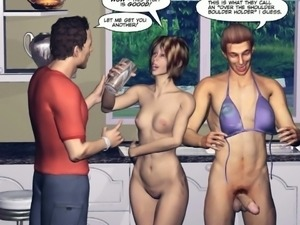 Bisexual 3d comic will tear you apart