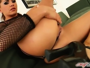 Rony loves to get assfucked straight to the ass. She always orgasms when a...