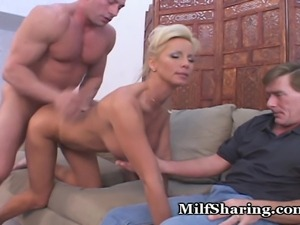 TJ just wanted more cock inside her moist pussy...and she gets what she wants!