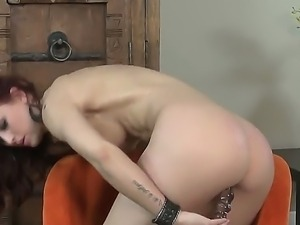 Cool solo masturbation from adorable chick Karlie Montana would make you...