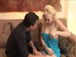 Busty blonde Kagney Linn Karter fucking hot free