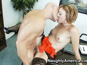 Dylan Ryan knows no limits when it comes to fucking with horny guy Johnny Sins