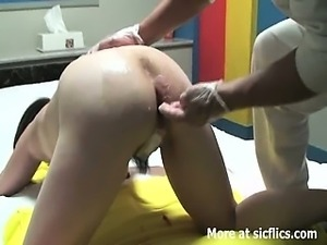 MASSIVE ANAL FISTING AND BOTTLE FUCK