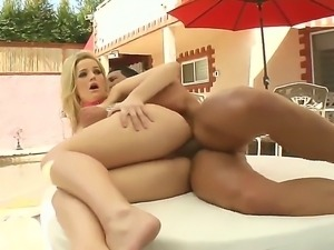 Hot ass blonde Alexis Texas gets her pussy drilled by her hardcore fucker...