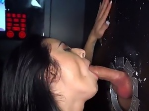 Busty brunette bitch Alexa Aimes cant resist temptation of getting dick from...