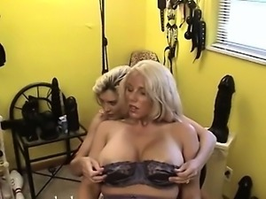 Both hands in their spread pussy