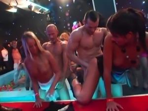 Euro Sluts Suck and Fuck - Orgy Party Part 1