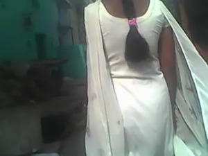 indian gaand in white salwar suit free