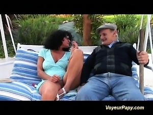 rough anal fuck and fisting gangbang with our voyeur papy