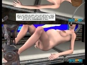 3d animated sci/fi video