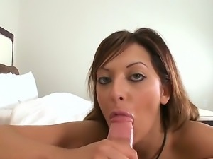 If you want a gal capable of giving a mesmerizing P.O.V. tug and suck job,...