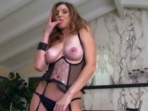 Jamie Lynn is a good looking adult model with nice big natural breasts....