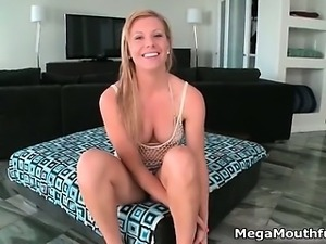 Sexy fit blonde loves getting fucked part1
