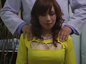 Japanese breast massage room hidden cam