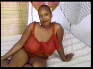Big Boobed Black Beauty Juicy Enjoys Anal