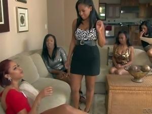 Layton Benton, Yasmine De Leon, Lya Lushes and Amber Z are all black lesbian...