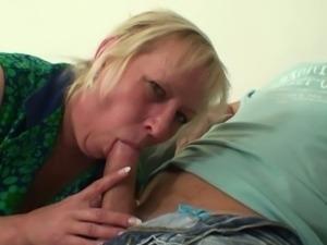 Wife's mom seduces drunken son-in-law