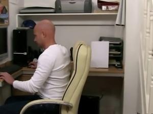 BBW Boss Fucks Worker