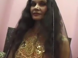 Mature Indian Adaza has a phat ass, smaller tits with great nipples and a...